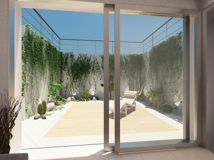 3d render it realizziamo il modello virtuale 3d e i for Giardino 3d